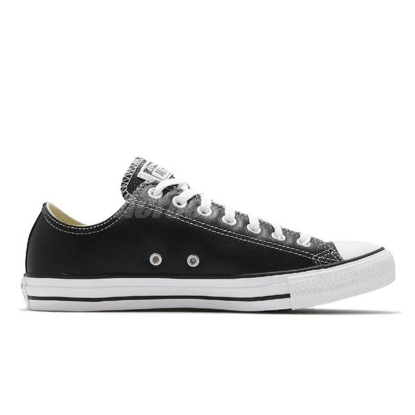 Converse Chuck Taylor Leather All Star 黑白 皮革 基本款 男鞋 女鞋【ACS】132174C