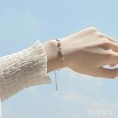 純銀手?女心電圖時尚個性簡約手飾日韓版 zc627【123休閒館】