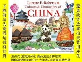 二手書博民逛書店Colours罕見& Characters of China 2
