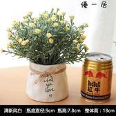仿真植物盆景假花北歐居家客廳茶幾桌面小盆栽