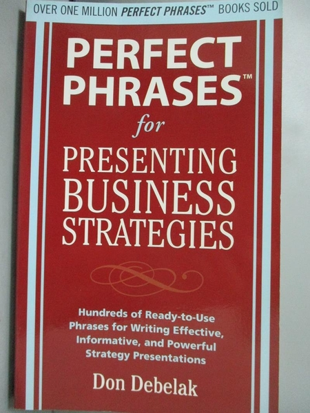 【書寶二手書T8/大學商學_NAW】Perfect Phrases for Presenting Business St