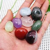 天然水晶碎石礦石原石毛料白紫魚缸裝飾瑪瑙石頭孩子玩耍石