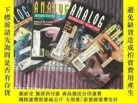 二手書博民逛書店Analog罕見科幻和科學事實雜誌 英文科幻小說 羅伯特·索耶