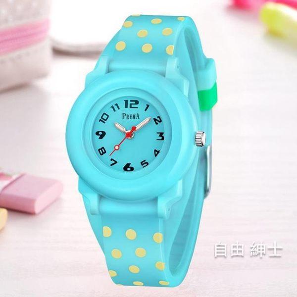 兒童手錶女孩正韓時尚中小學生女童可愛小巧防水少女款手錶石英錶 1件免運