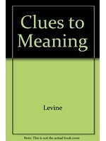 二手書博民逛書店《Clues to Meaning: Strategies fo