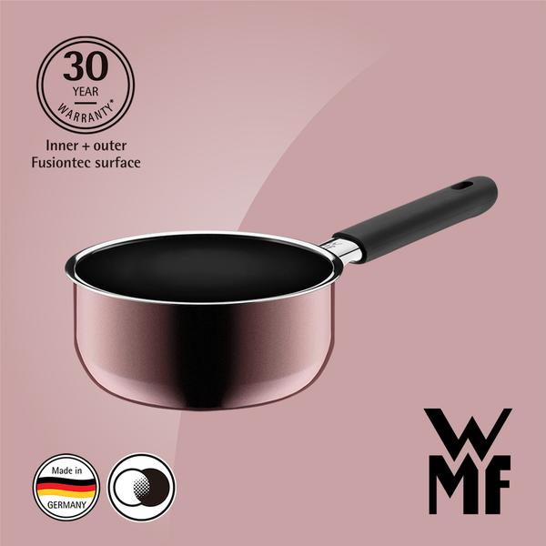 德國WMF Fusiontec 單手鍋 16cm 1.3L (赭紅色)