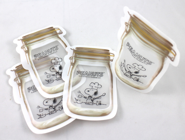 【卡漫城】 Snoopy 夾鏈袋 任選兩包 ㊣版 花生漫畫 收納袋 查理布朗 史奴比 PE Zipper Bag 小物