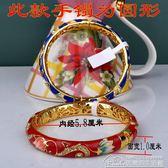 景泰藍雙層手鐲女流行首飾品鍍金鐲子民族風生日禮物 居樂坊生活館