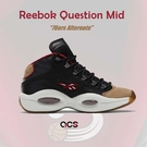 Reebok 籃球鞋 Question Mid 76ers 黑 卡其 紅 Iverson 男鞋 【ACS】 H00847