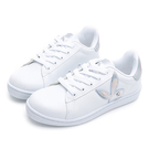 PLAYBOY 輕量經典兔兔小白鞋-白銀(Y7726)