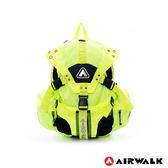 AIRWALK - 拼接原色三叉扣系列後背包 情人節 送禮