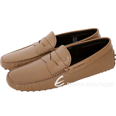 TOD'S Gommino Driving 經典皮革豆豆鞋(男鞋/棕色) 1740454-B3
