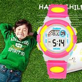 好康降價兩天-兒童手錶夜光運動防水學生女孩女童兒童錶男孩卡通電子錶