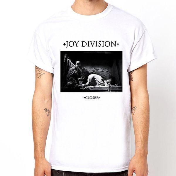 JOY DIVISION-Closer短袖T恤-2色 相片插畫趣味幽默設計樂團搖滾情侶音樂