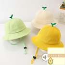 兒童漁夫帽寶寶夏季遮陽防曬帽嬰兒帽子防護...