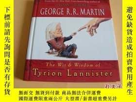 二手書博民逛書店英文原版The罕見Wit & Wisdom of Tyrion Lannister提利昂·蘭尼斯特的智慧和智慧。奇