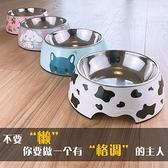 寵物碗 狗盆狗碗貓碗雙碗防打翻貓糧盆不銹鋼狗狗食盆大號大型犬寵物飯盆 雙十一特惠