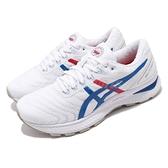 Asics 慢跑鞋 Gel-Nimbus 22 Retro Tokyo 白 藍 女鞋 復刻東京 運動鞋 【ACS】 1012A665100