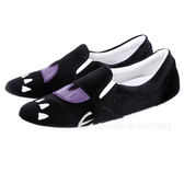 Chiara Ferragni Boo 怪獸圖案天鵝絨厚底便鞋(黑色) 1540707-01