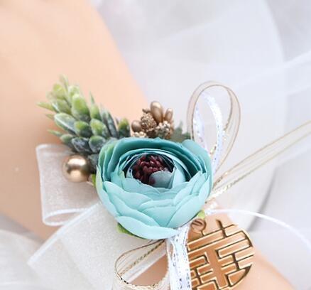 森系韓式新娘手腕花伴娘
