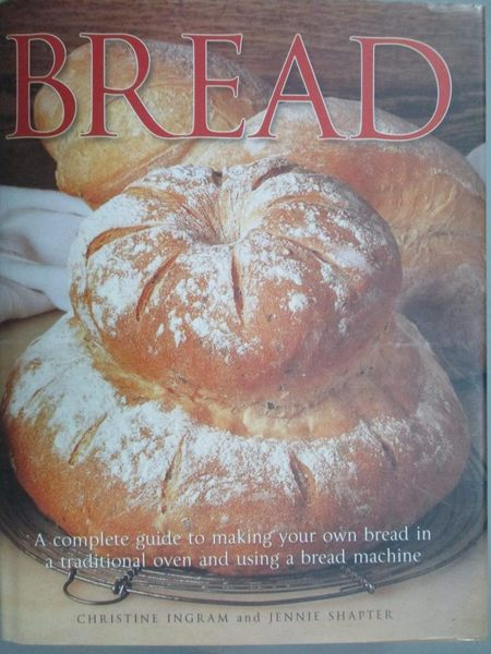 【書寶二手書T8/餐飲_QNU】Bread_Shapter, jennie