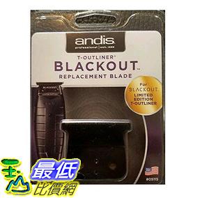 [106美國直購] 更換刀片 Andis T-Outliner Blackout Replacement Blade B06XWWQXGR