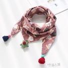 兒童圍巾春秋冬季薄款寶寶圍脖女童可愛男童韓版潮嬰兒保暖三角巾 9號潮人館