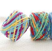 聖誕感恩季 手工diy編織粗毛線冰條線嬰兒寶寶線織圍巾線勾鞋子送鉤拖鞋教程