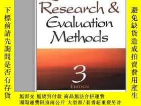 二手書博民逛書店Qualitative罕見Research & Evaluation Methods-定性研究與評價方法Y43