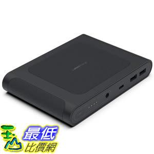 [8美國直購] 便攜式移動電源 Omni Mobile 25,600 mAh DC/USB-C/USB-A/Wireless Charging Portable