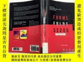 二手書博民逛書店Forms罕見Folds and Sizes 英文原版Y23200 Evans;Poppy Quayside