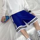籃球短褲男潮流夏季外穿美式高街六分薄款寬松直筒運動中褲七分褲
