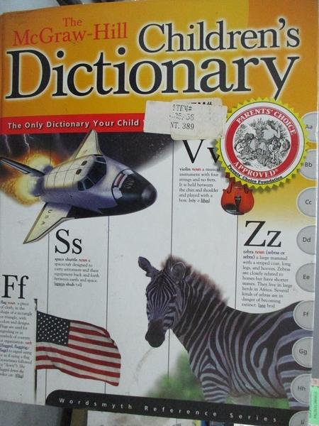 【書寶二手書T1/字典_YKC】The McGraw-Hill Children s Dictionary_Wordsmyth Collaboratory