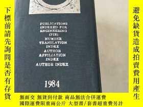 二手書博民逛書店THE罕見ENGINEERING INDEX 1984 Vol.