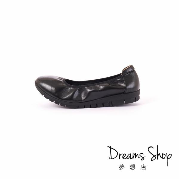 大尺碼女鞋-夢想店-MIT台灣製造沙發後枕舒適耐走工作鞋2.5cm(41-45)【PW2000】黑色