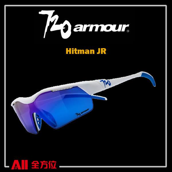 預購品【720Armour】720 Hitman JR系列 運動太陽眼鏡 紫桃/灰紫(B3254) 全方位跑步概念館