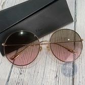 BRAND楓月 Christian Dior 迪奧 珠邊 粉漸層墨鏡 太陽眼鏡 配飾 配件 飾品 飾物 服飾配件