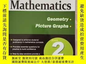 二手書博民逛書店Conquer罕見Mathematics Geometry Picture Graphs 2(攻克數學二年級 幾何