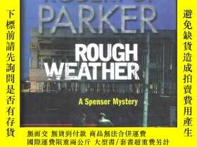 二手書博民逛書店 16開本精裝本 英語小說罕見Rough Weather   R