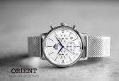 東方錶 ORIENT 經典米蘭帶 手錶 (RA-KV0402S) 防水/42.4mm