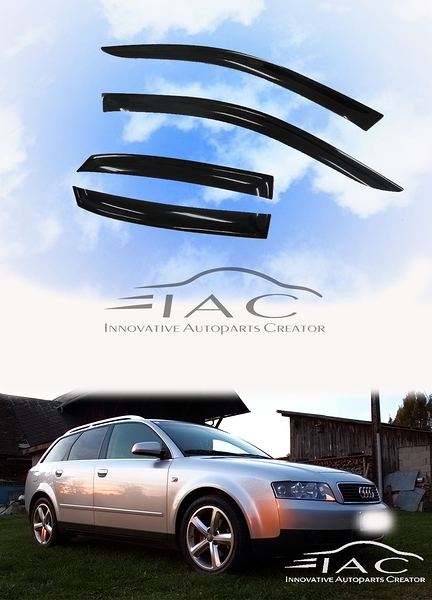 Audi A4 B6 Wagon Avant 00-06 5門 台製晴雨窗