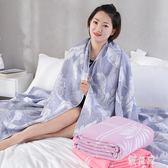 毛巾被夏季薄款純棉雙人紗布蓋毯單人午睡毯沙發毯透氣空調毯 Gg1887『優童屋』