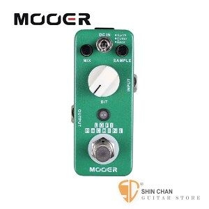 Mooer Lofi Machine 採樣精度效果器【Sample Reducing Pedal】【Micro系列LM】