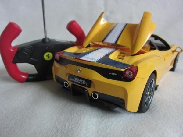 【KENTIM玩具城】 1:14 全新法拉利Ferrari 458 Speciale A原廠授權RASTAR遙控車