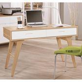 【森可家居】羅德尼4尺書桌 8CM887-3 (不含椅) 木紋質感 日系無印 北歐風
