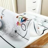 軟玻璃pvc桌布防水防燙防油免洗餐桌墊茶幾透明塑料水晶板長方形QM 美芭