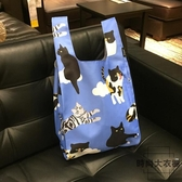 輕便折疊環保購物袋 便攜手拎包【時尚大衣櫥】