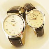 情侶對錶 正韓時尚簡約潮手錶男女士防水情侶錶女錶休閒夜光男錶石英錶