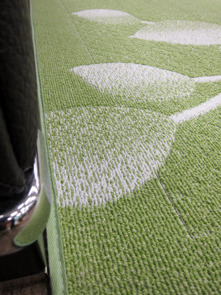 范登伯格-青田★日本抗菌柔美地毯-綠-80x150cm
