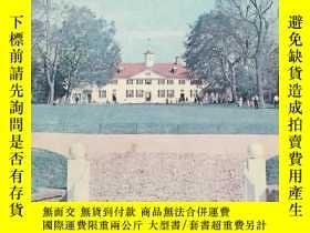 二手書博民逛書店《Mount罕見Vernon》(英語:弗農山莊) 1974年,圖文並茂Y164104 Judd &